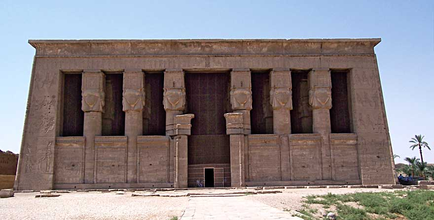 Image result for temple of hathor dendera egypt