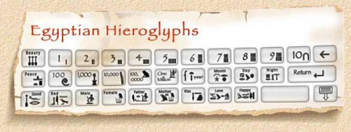 About Hieroglyphics
