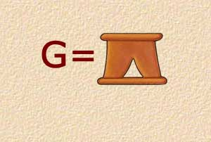 G - Stand - Alphabet Symbol
