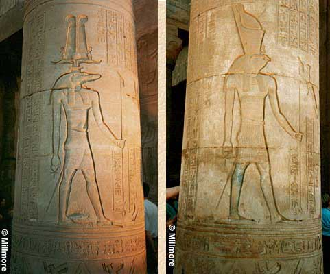 Sobek and Horus