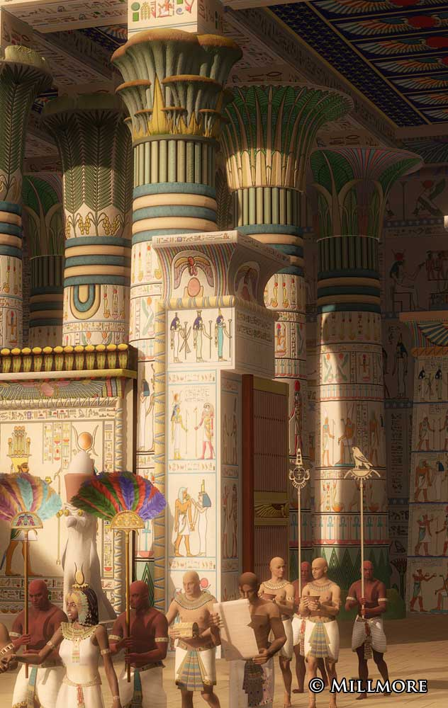 Rebuilding Ancient Egyptian Temples In 3d