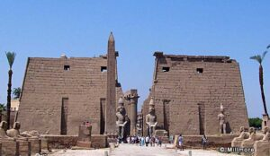 Inside Luxor Temple