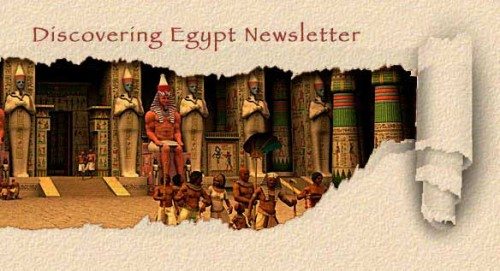 Discovering Egypt Newsletter