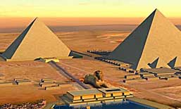 Egyptian Pyramids and Temples