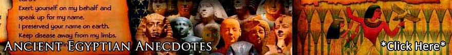 Egyptian Anecdotes