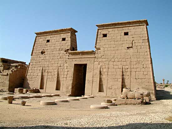 Image result for Temple of Khonsu