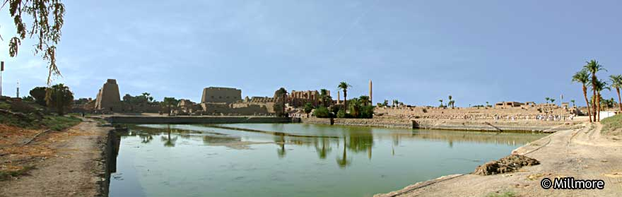 Karnak Temple Sacred Lake