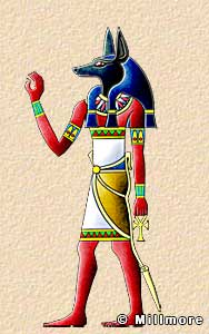 Ancient egyptian gods and goddesses illustrated descriptions and stories anubis publicscrutiny Image collections