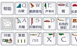 Hieroglyphic Typewriter Chinese