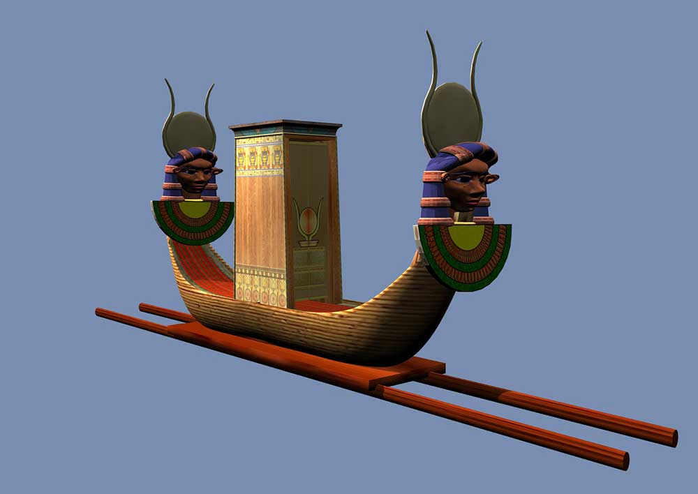The festival Barque of Hathor part two
