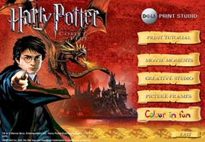 The Harry Potter and the Goblet of Fire™ Dell Print Studio